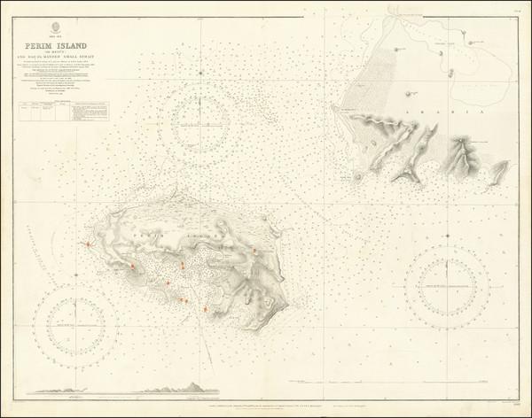 95-Arabian Peninsula Map By British Admiralty