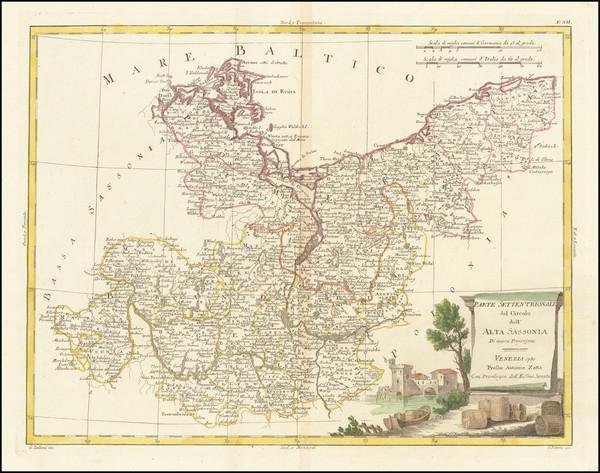 14-Germany Map By Antonio Zatta