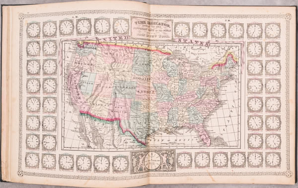 42-Atlases Map By Schonberg & Co.