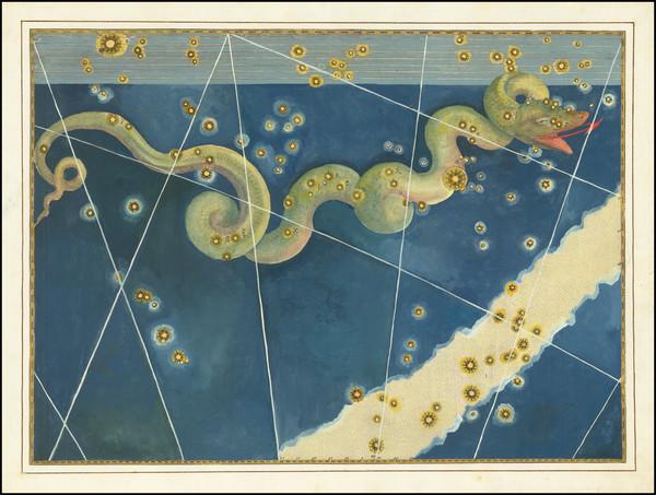 80-Celestial Maps Map By Johann Bayer