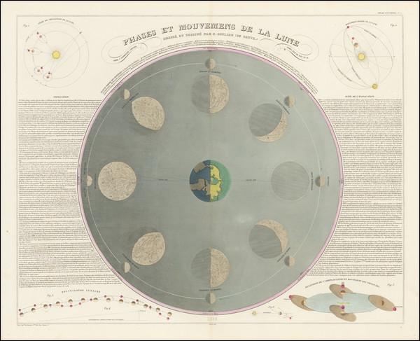34-Celestial Maps Map By J. Andriveau-Goujon