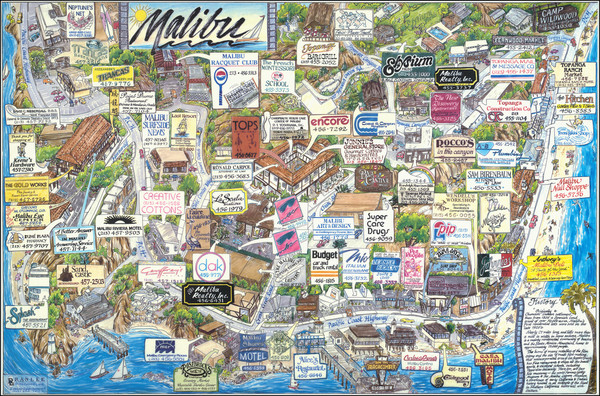 15-Other California Cities Map By Ranlee Publishing Inc.