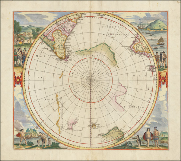 17-Polar Maps and Australia Map By Jan Jansson