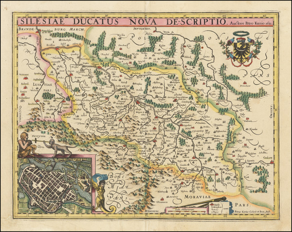 51-Poland Map By Pieter van den Keere