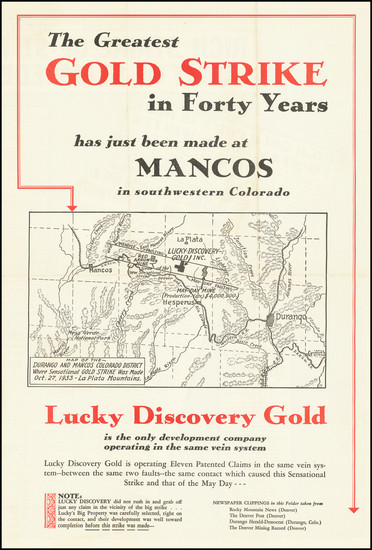 15-Colorado and Colorado Map By Lucky Discovery Gold