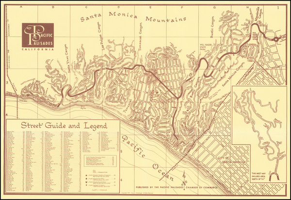 22-Los Angeles Map By Franz L. Wambaugh