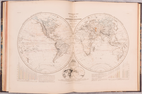 14-Atlases Map By Thomas Milner / Augustus Herman Petermann