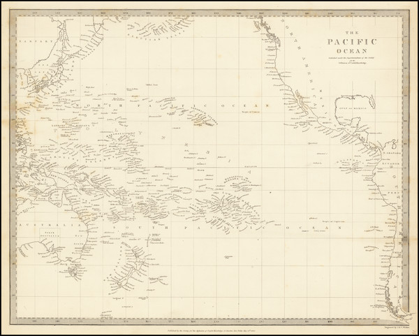 70-Pacific Ocean and Pacific Map By SDUK