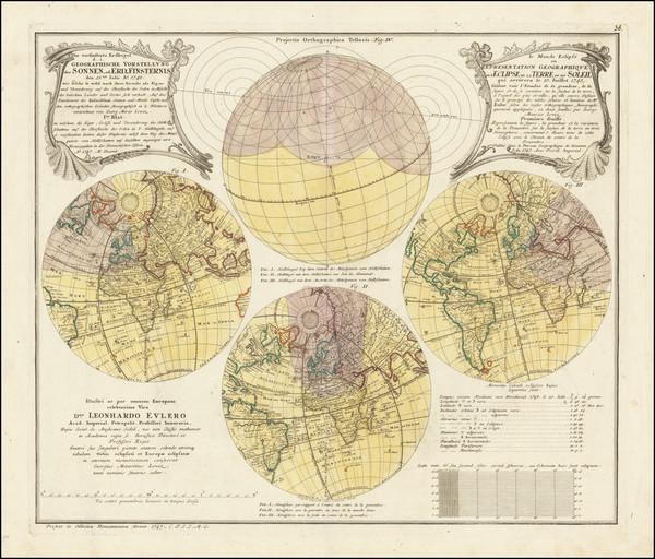 66-Celestial Maps and Curiosities Map By Homann Heirs