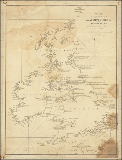 3-British Isles Map By John & Alexander Walker