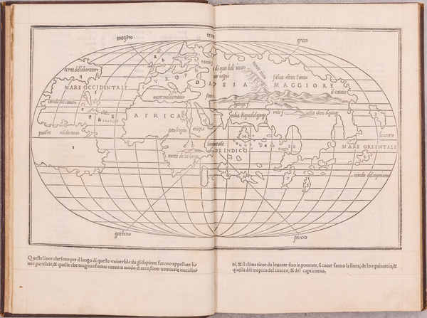 85-Atlases and Rare Books Map By Benedetto Bordone