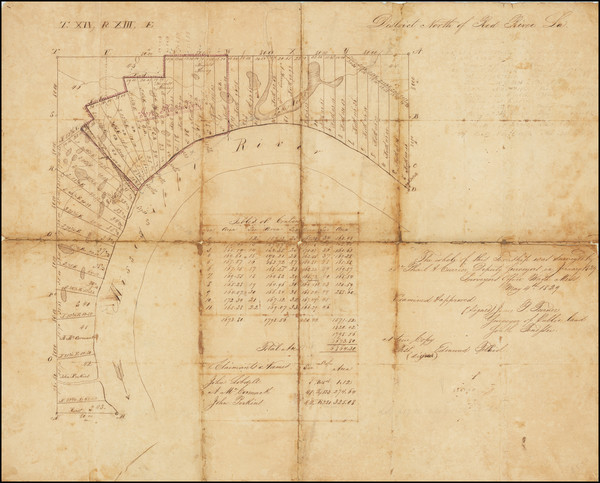 65-Louisiana and Mississippi Map By James B. Turner