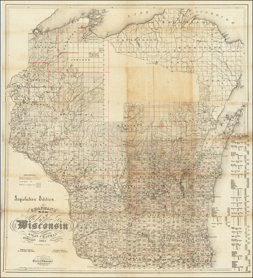 99-Wisconsin Map By Silas Chapman