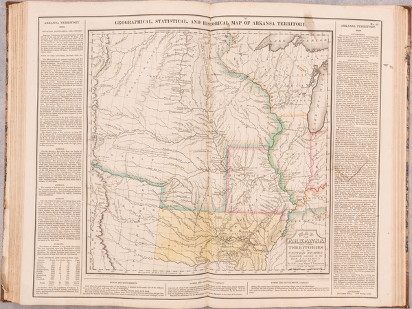 61-Atlases Map By Henry Charles Carey  &  Isaac Lea