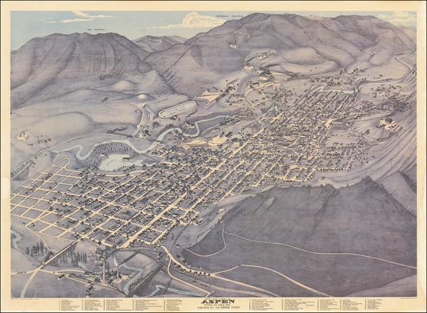 33-Colorado and Colorado Map By Augustus Koch