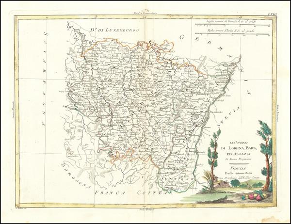15-France Map By Antonio Zatta