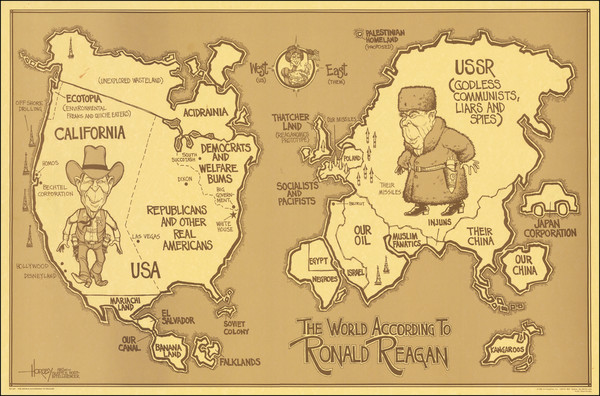 100-World, United States and Pictorial Maps Map By David Horsey