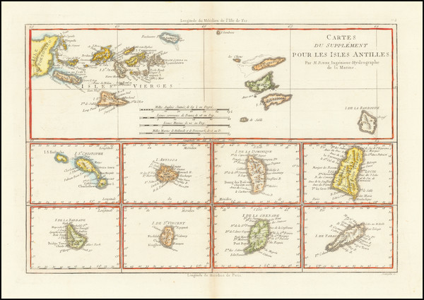 39-Virgin Islands and Other Islands Map By Rigobert Bonne