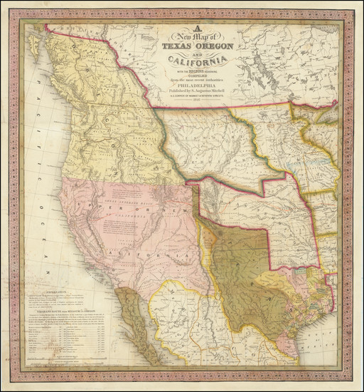 1-Texas, Plains, Oklahoma & Indian Territory, Southwest, Arizona, Colorado, Utah, Nevada, New
