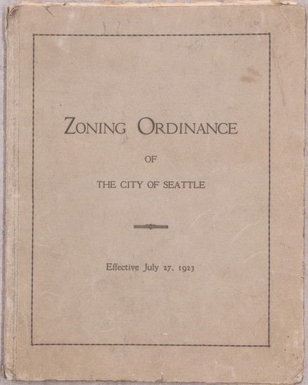 83-Washington, Atlases and Rare Books Map By City of Seattle