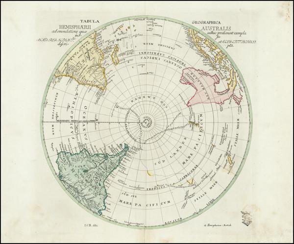 34-Southern Hemisphere and Polar Maps Map By Leonard Von Euler