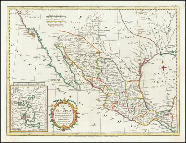 23-Texas, Southwest, Mexico and California Map By Strahan  &  Cadell