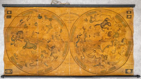 84-Celestial Maps Map By Samuel D. M'Cullough