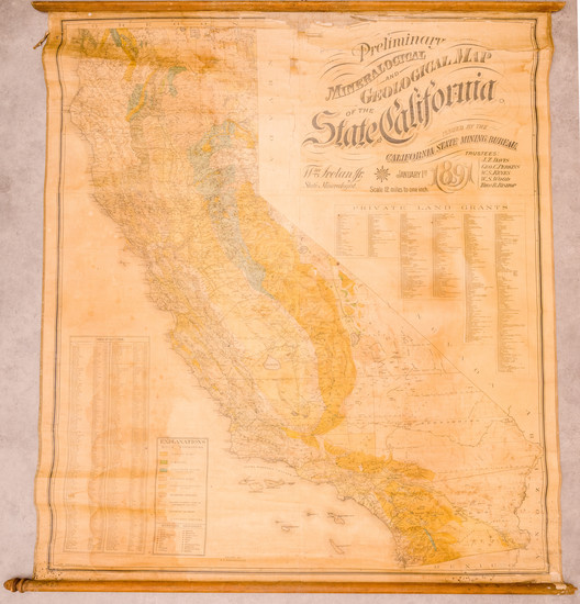 21-California Map By Britton & Rey