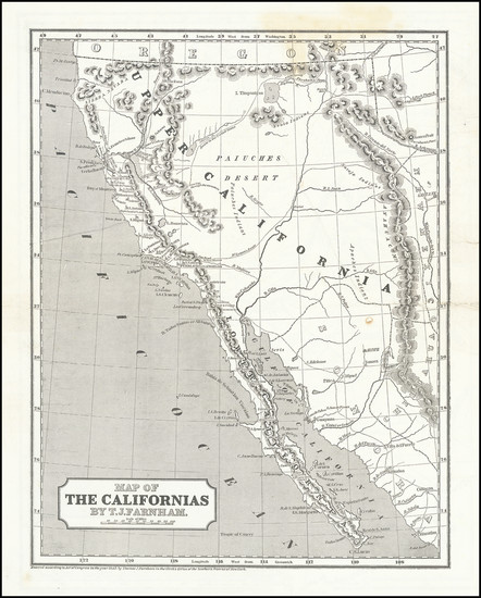 54-Southwest, Arizona, Utah, Nevada, Rocky Mountains, Utah and California Map By Sidney Morse  &am