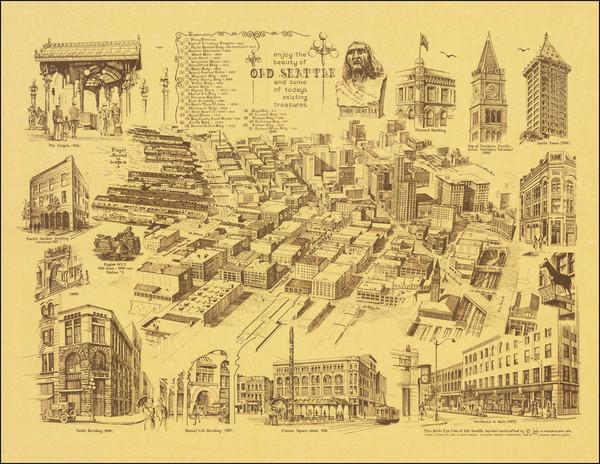 88-Washington Map By Neil M. Fredericksen