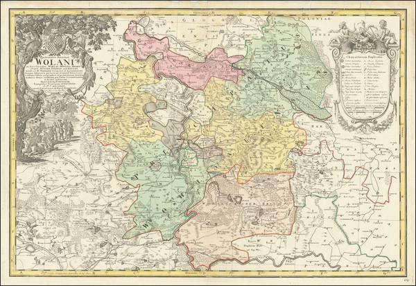 17-Poland Map By Homann Heirs