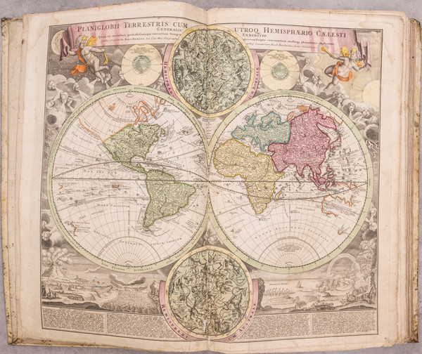 39-Atlases Map By Johann Baptist Homann