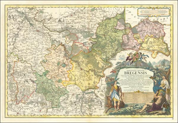 60-Poland Map By Homann Heirs