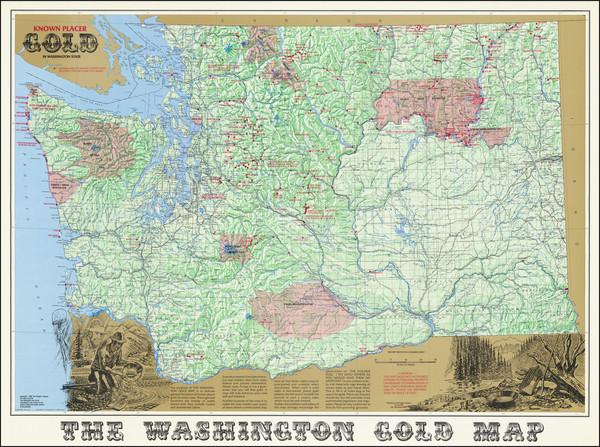 34-Washington Map By Richard A. Pargeter