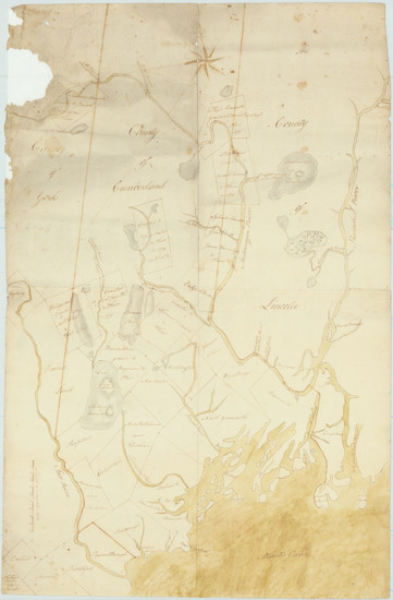 80-New England and Maine Map By Anonymous