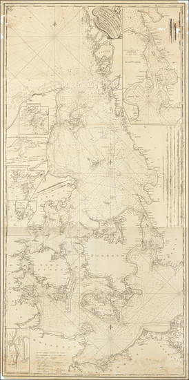 79-Germany, Sweden and Denmark Map By John Hamilton Moore
