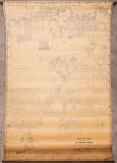 4-San Diego Map By Rodney Stokes