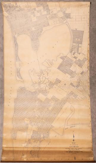 76-San Diego Map By Rodney Stokes