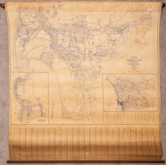 94-San Diego Map By Rodney Stokes