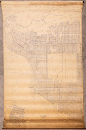 98-San Diego Map By Rodney Stokes