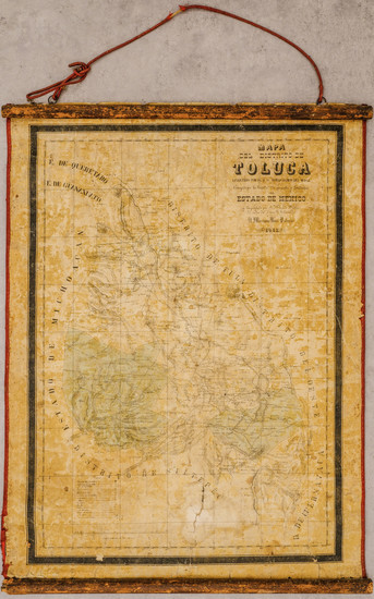 77-Mexico Map By Tomás Ramón de Moral