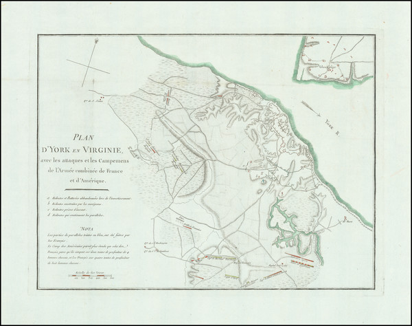 46-South, Virginia and American Revolution Map By Henri Soules