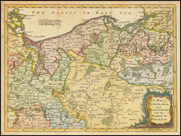 18-Poland and Norddeutschland Map By Gentleman's and London Magazine