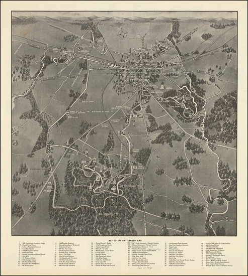 23-Pennsylvania and Civil War Map By George W. Buohl