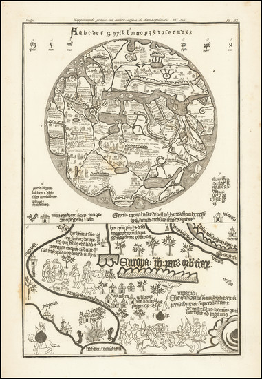 14-World Map By J. B. L. G. Seroux D'Agincourt