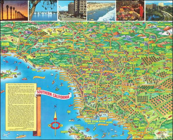 39-California Map By Don Bloodgood