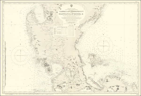 11-Philippines Map By British Admiralty