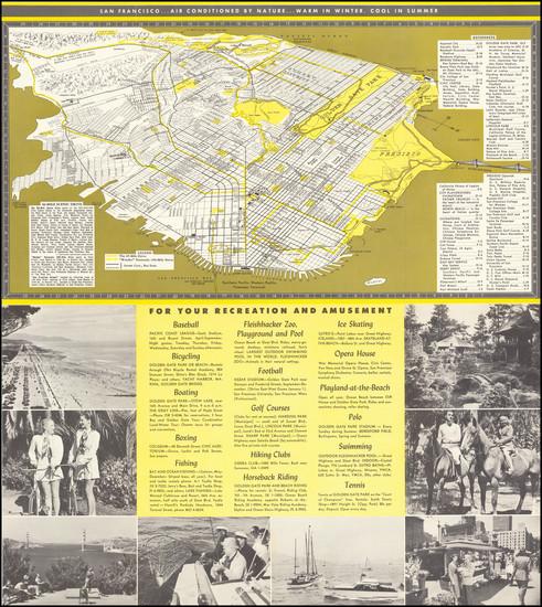 18-San Francisco & Bay Area Map By San Francisco Convention & Visitors Bureau