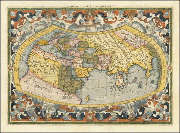 37-World Map By  Gerard Mercator