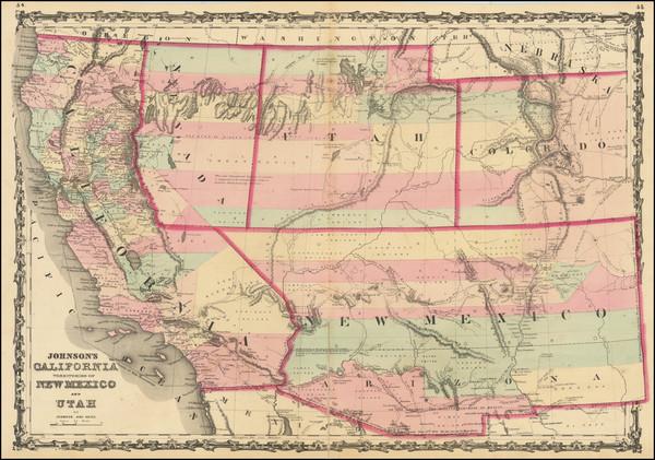 25-Southwest, Arizona, Colorado, Utah, Nevada, New Mexico, Rocky Mountains, Colorado, Utah and Cal